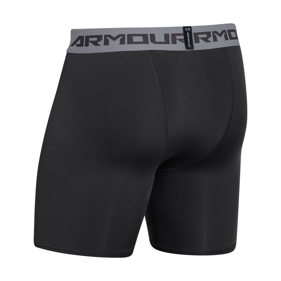 "Under Armour Men's Compression 6"" Short Black"