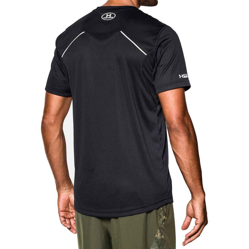 Under Armour Men's Coldblack Run Short Sleeve Tee Black