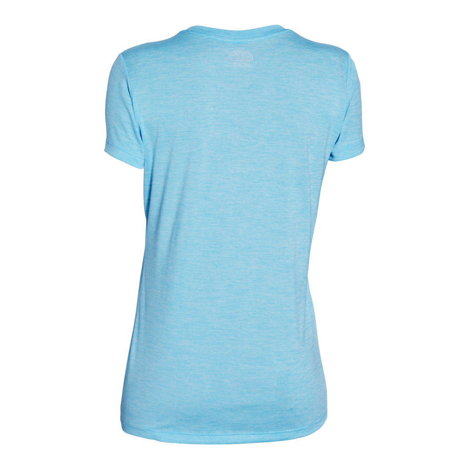 Under Armour Women's Tech V-Neck Twist Sky Blue