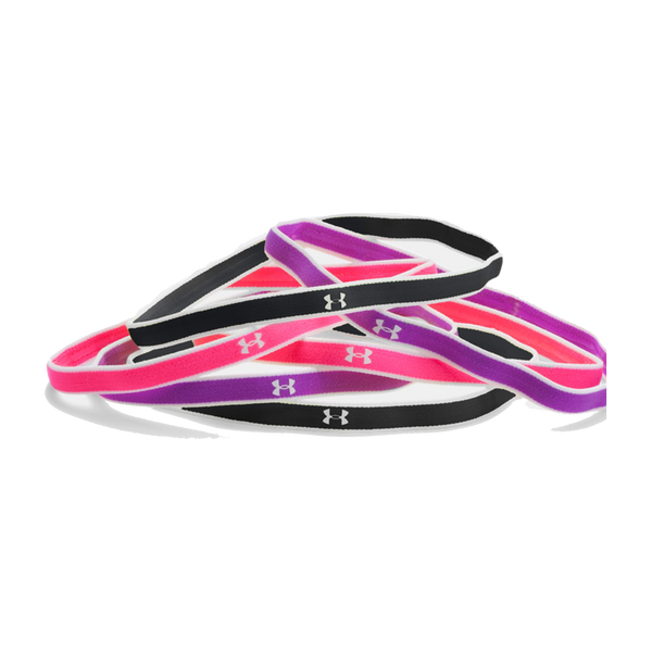 Under Armour Women's Mini Headband Magenta Mix
