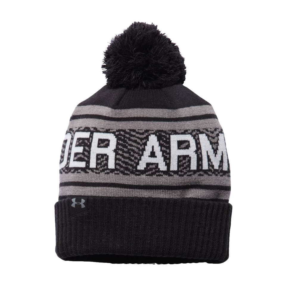 Under Armour Men's Retro Pom Toque Black