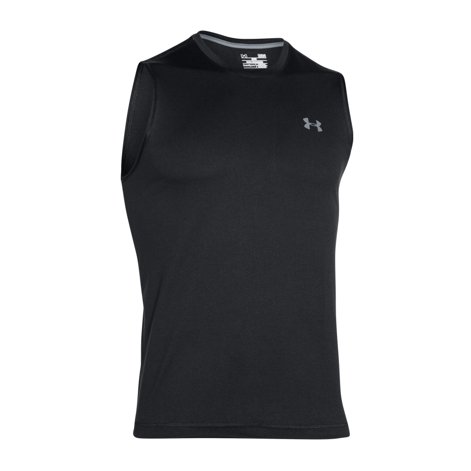Under Armour Men's Tech Tank Black