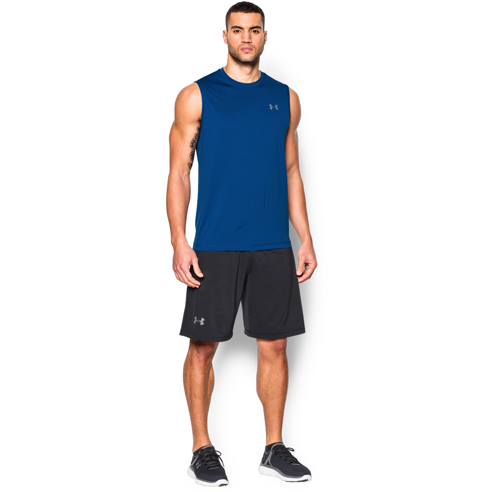 Under Armour Men's Tech Tank Royal
