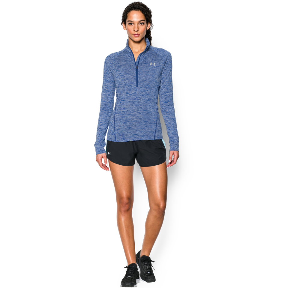 Under Armour Women's Tech 1/2 Zip Twist Cobalt