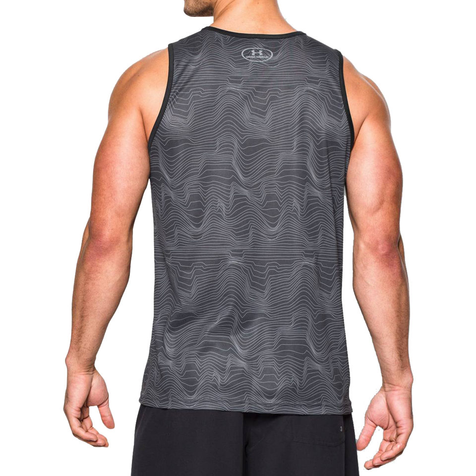 Under Armour Men's Bender Tank Anthracite