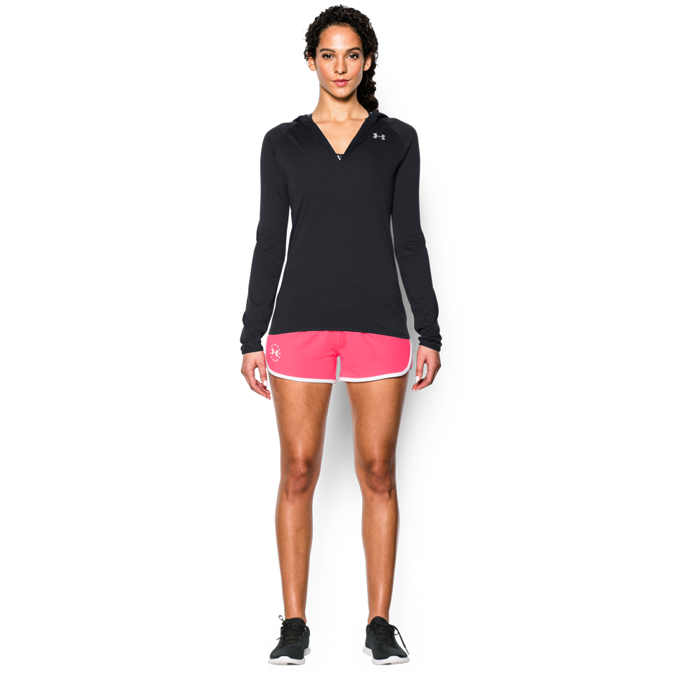 Under Armour Women's Tech LongSleeve Hoodie Black