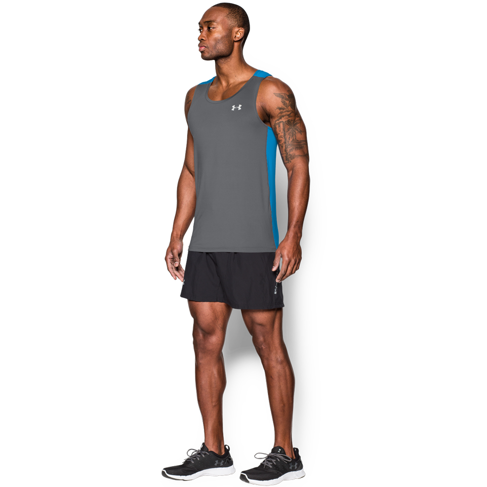 Under Armour Men's CoolSwitch Singlet Graphite