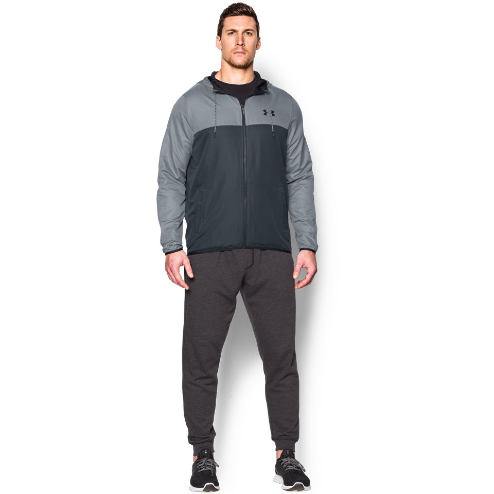 Under Armour Men's Sportstyle Windbreaker Stealth Grey