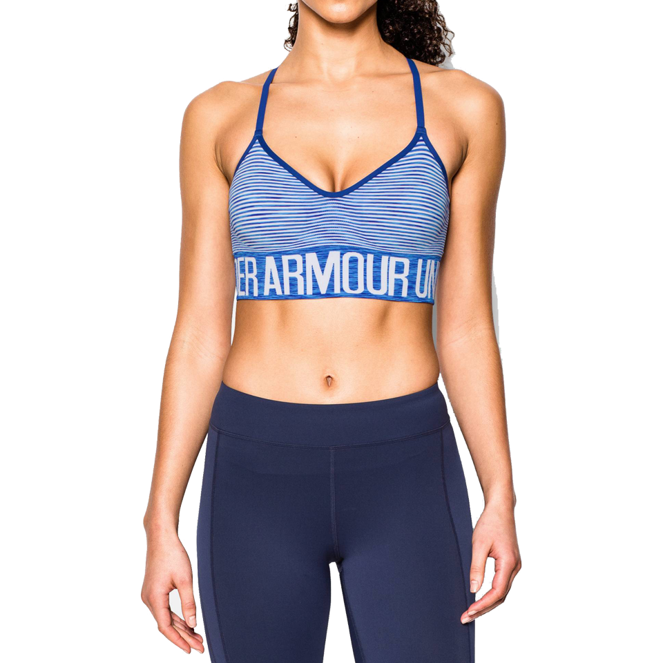 Under Armour Women's Armour Seamless Bra Cobalt