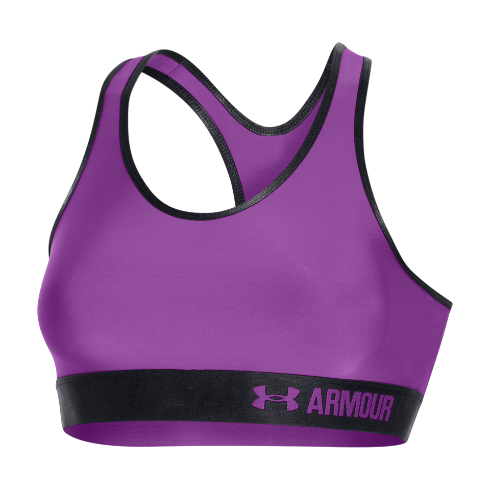 Under Armour Women's Mid Bra Mega Magenta