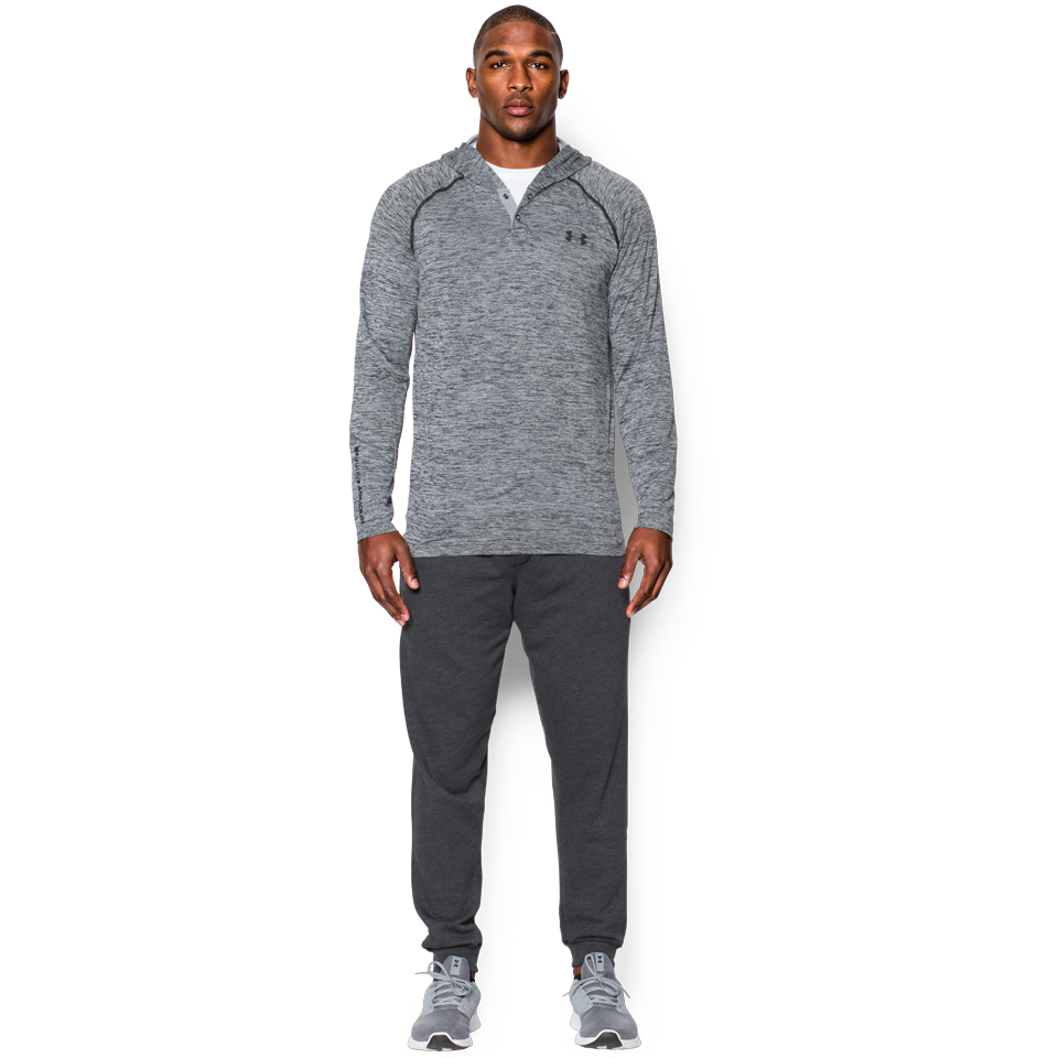Under Armour Men's Popover Henley Black