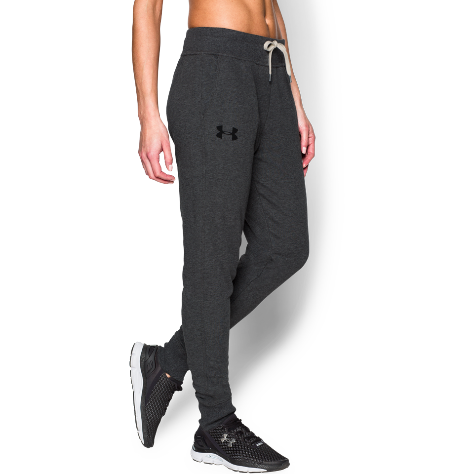 Under Armour Women's Favourite Terry Pant Carbon Heather