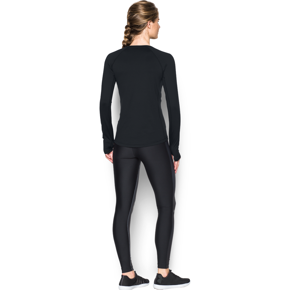 Under Armour Women's ColdGear Armour Crew Black