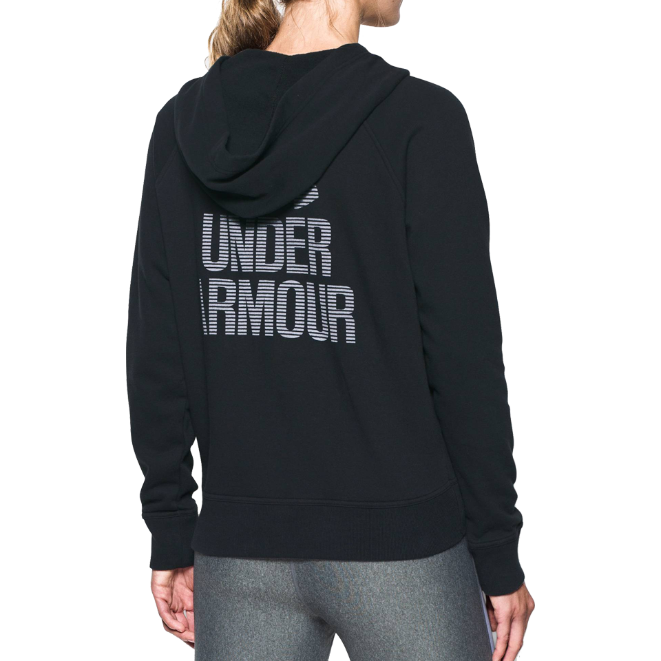 Under Armour Women's Favourite Fleece Full Zip Hoodie Black