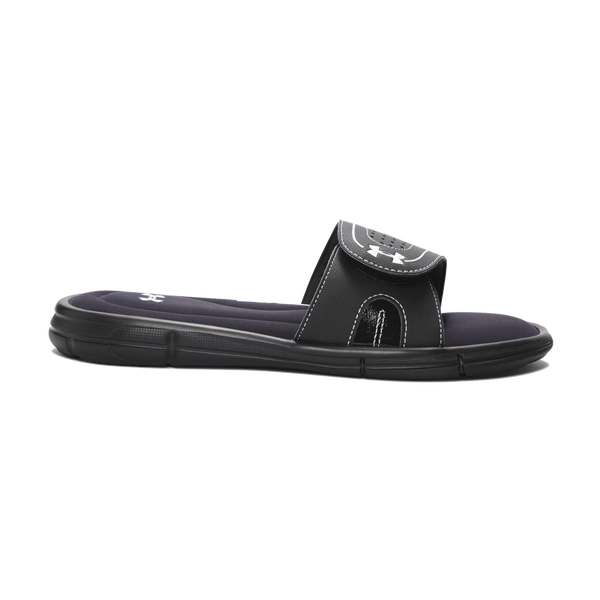 Under Armour Women's Ignite VIII Slide Black/White