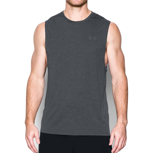 Under Armour Men's Threadborne Muscle Tank Black