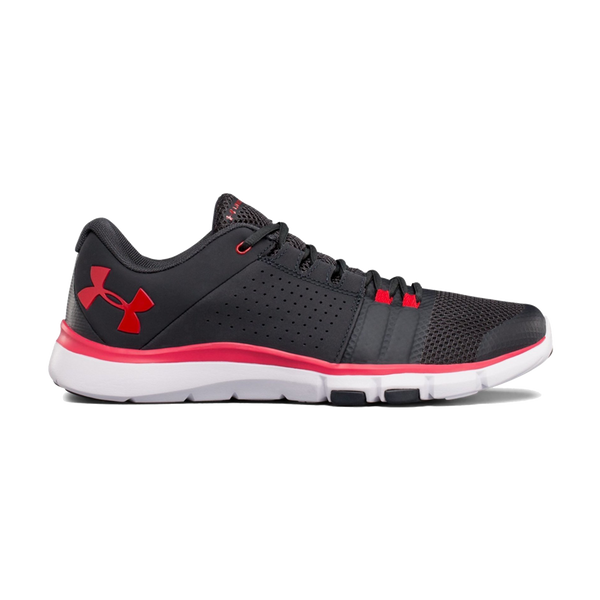 Under Armour Men's Strive 7 Anthracite/Red