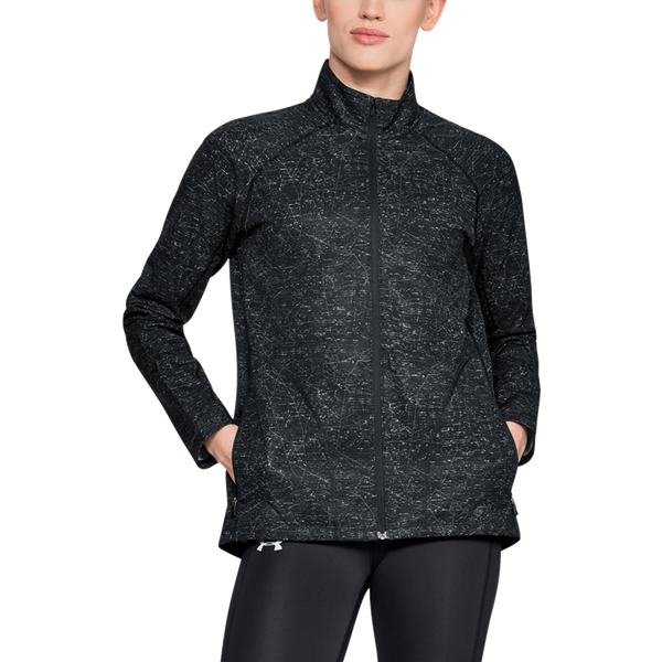 Under Armour Women's Storm Out and Back Jacket Black Print