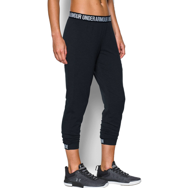 Under Armour Women's Featherweight Fleece Pant Black