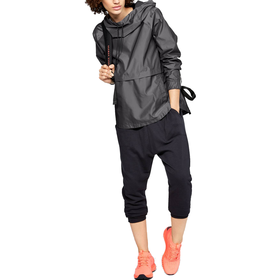 16e3639a676e Under Armour Women's Storm Pullover Jacket Charcoal