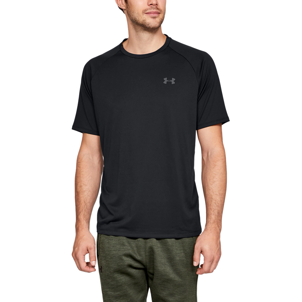 Under Armour Men's Tech Short Sleeve Black