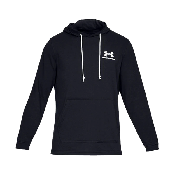 Under Armour Men's Sportstyle Terry Hoodie Black