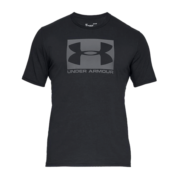 Under Armour Men's Boxed Sportstyle Short Sleeve T-Shirt Black