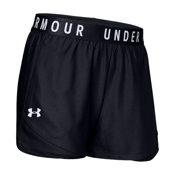 Under Armour Women's Play Up Shorts 3.0 Black