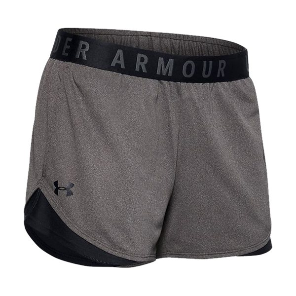 Under Armour Women's Play Up Shorts 3.0 Carbon Heather