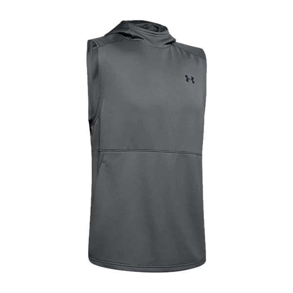 Under Armour Men's MK-1 Sleeveless Hoodie Pitch Grey