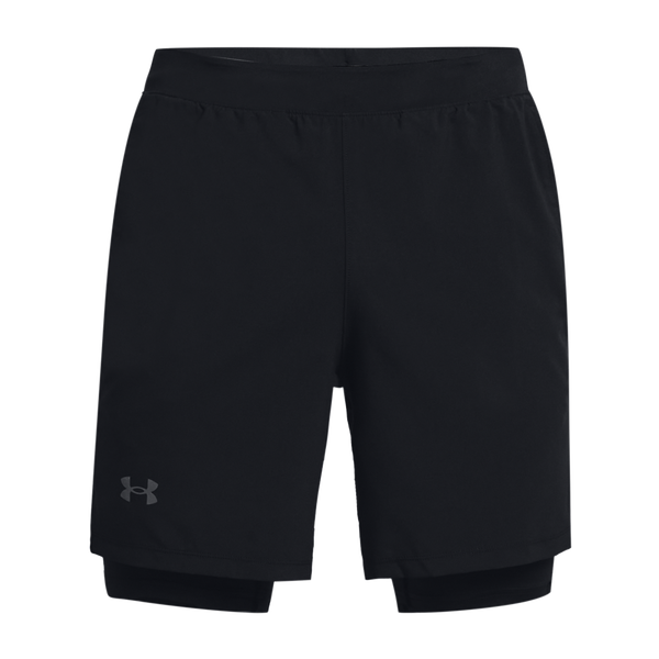Under Armour Men's Launch Run 2-in-1 Shorts Black