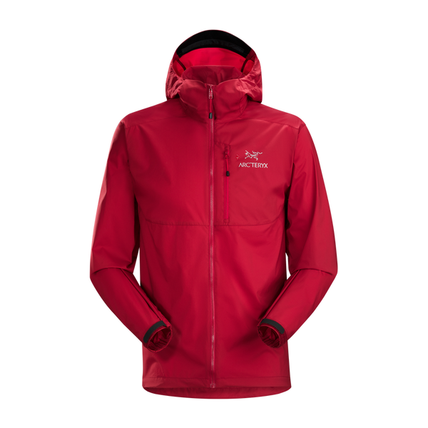 Arc'teryx Men's Squamish Hoody Red Beach