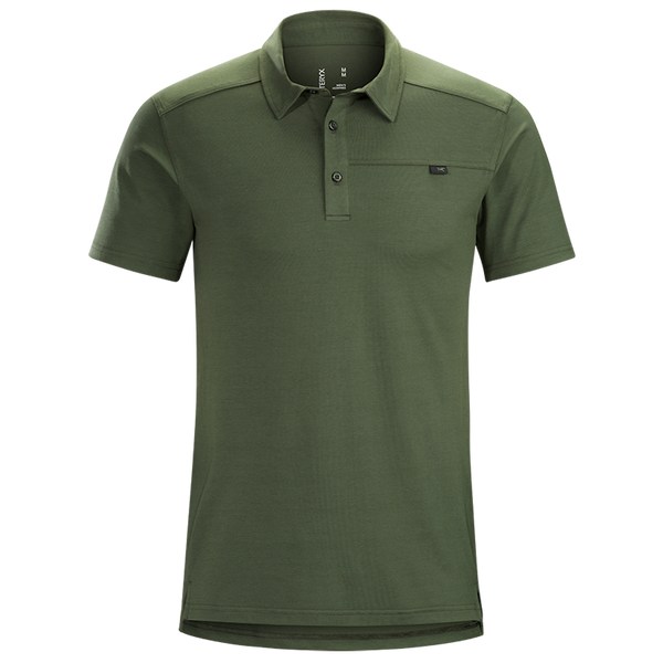 Arc'teryx Men's Captive S/S Polo Larix