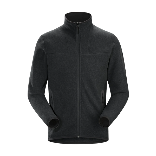 Arc'teryx Men's Covert Cardigan Black Heather