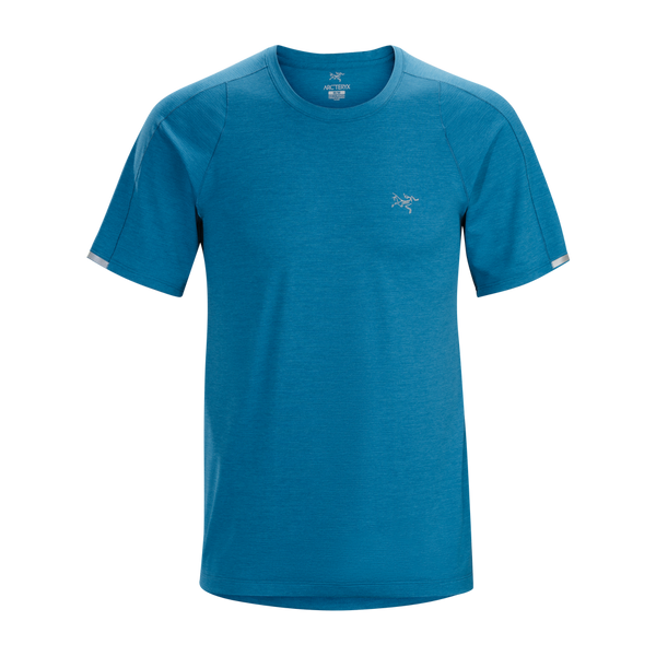 Arc'teryx Men's Cormac Crew Short Sleeve Deep Cove