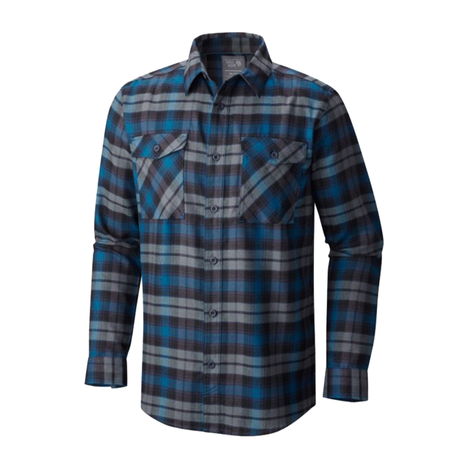 Mountain Hardwear Men's Flannel Shirt Phoenix Blue