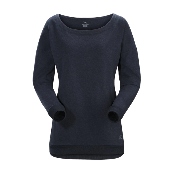 Arc'teryx Women's Minibird Crew Navy Heather