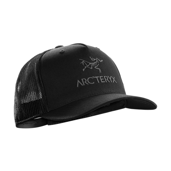 Arc'teryx Logo Trucker Hat Black