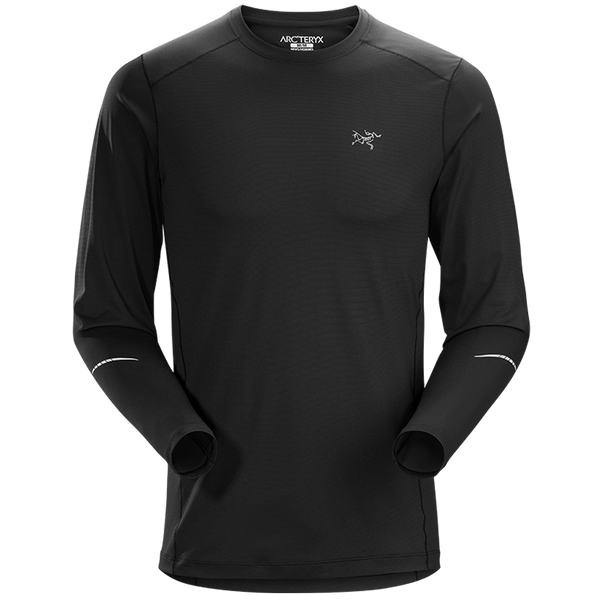 Arc'teryx Men's L/S Motus Crew Black