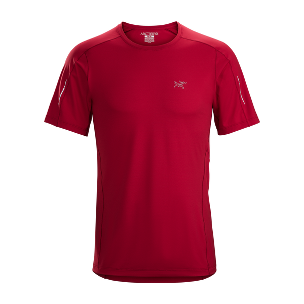 Arc'teryx Men's Motus Crew Short Sleeve Red Beach
