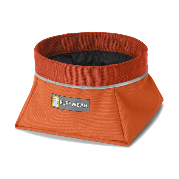 Ruffwear Inc Quencher Bowl Pumpkin Orange