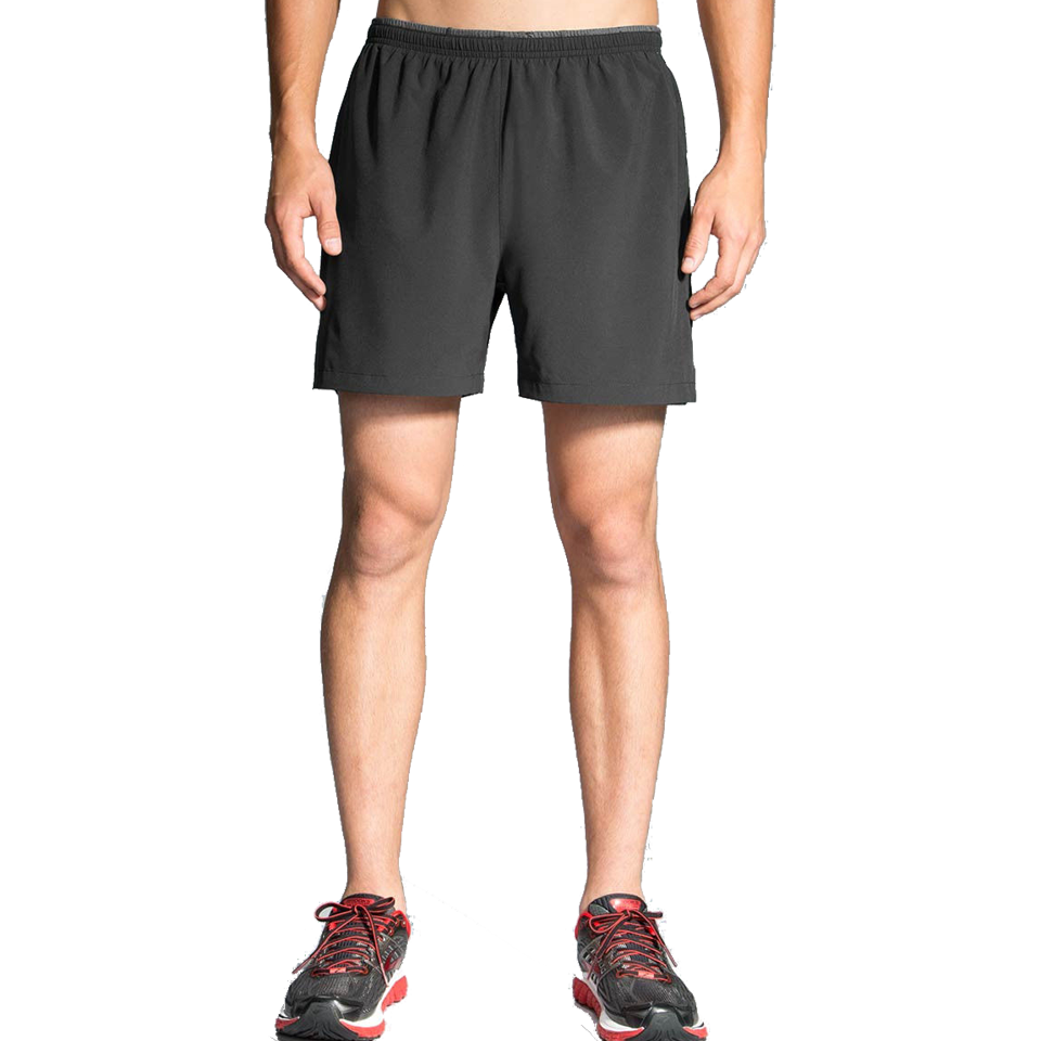 "Brooks Men's Sherpa 5"" 2-in-1 Short Black"