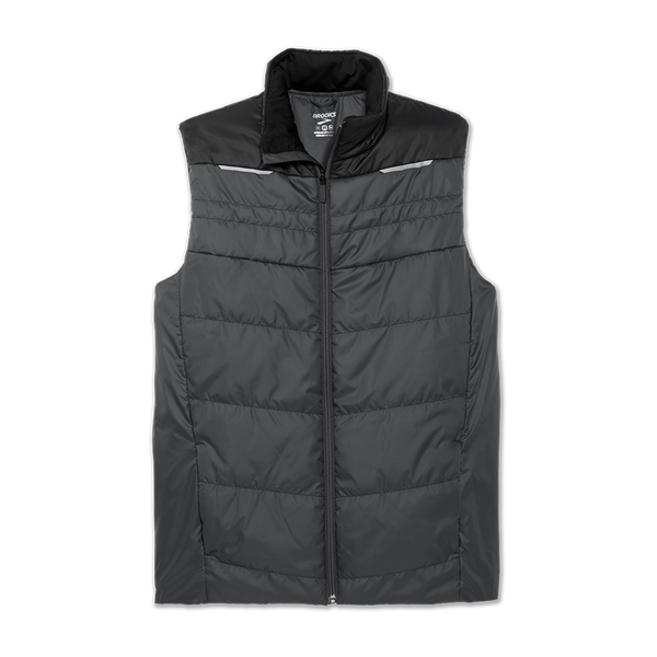 Brooks Men's Cascadia Thermal Vest Asphalt