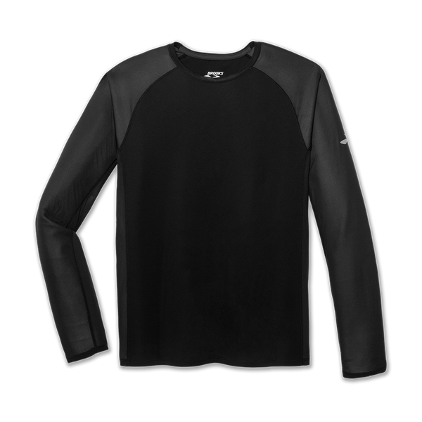 Brooks Men's Stealth Long Sleeve Black