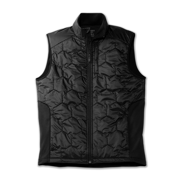 Brooks Men's Shield Hybrid Vest Black