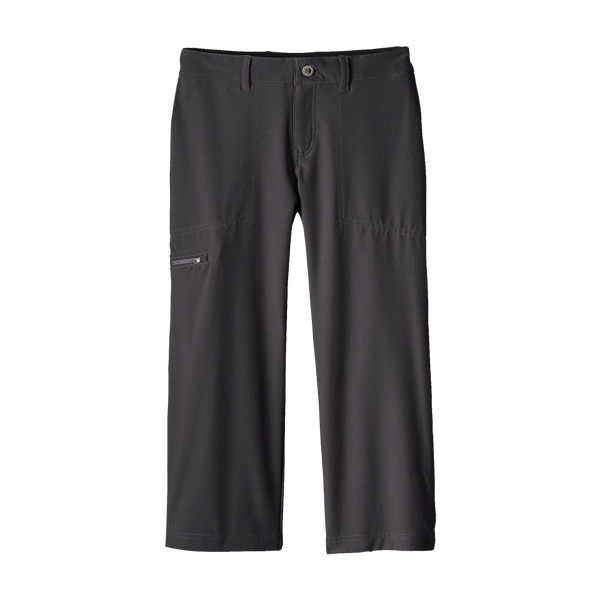 Patagonia Women's Happy Hike Capri Ink Black