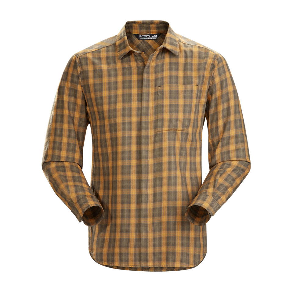 Arc'teryx Men's Bernal LS Shirt Forest Realm