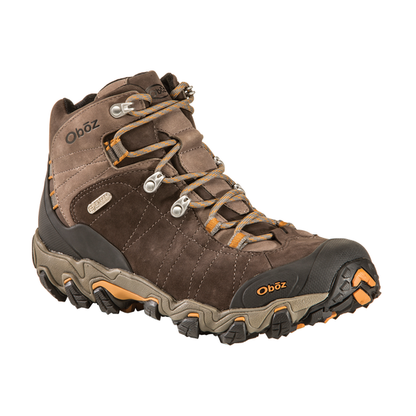 Oboz Men's Bridger Mid B-Dry Waterproof Sudan