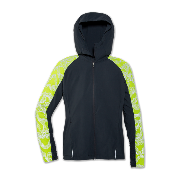 Brooks Women's Nightlife Jacket Asphalt