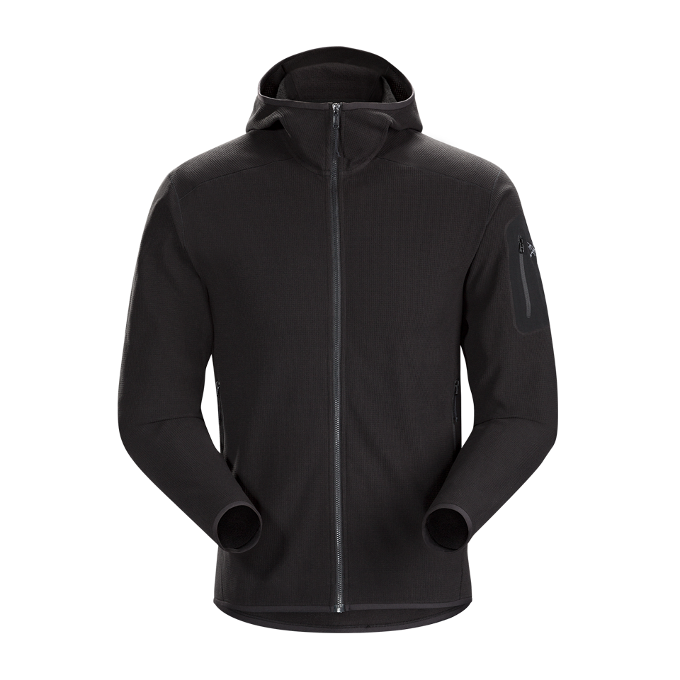 Arc'teryx Men's Delta LT Hoody Black